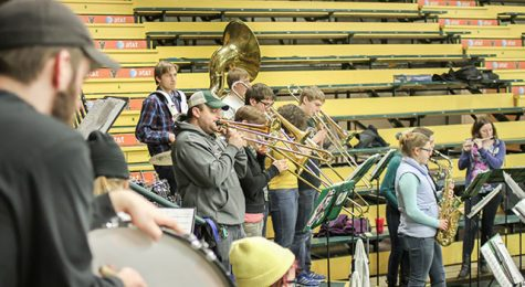 Pep band membership is on the rise