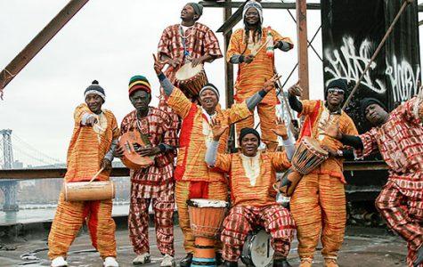 Refugee drummers return