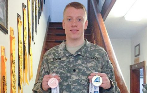 ROTC student athletes carry dual obligations