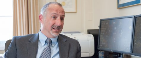 Students get to know UVM's provost