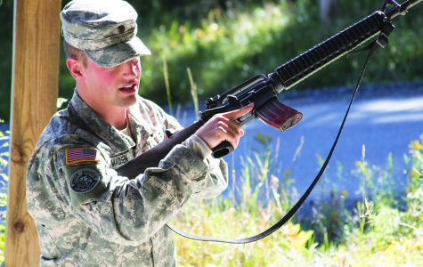 ROTC holds fall training event