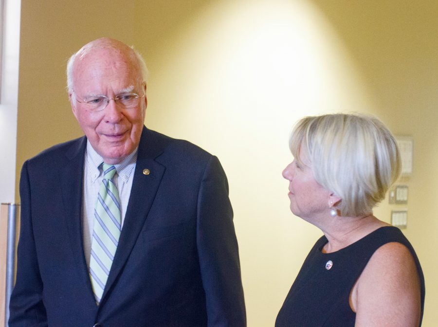 Senator Leahy Speaks at UVM