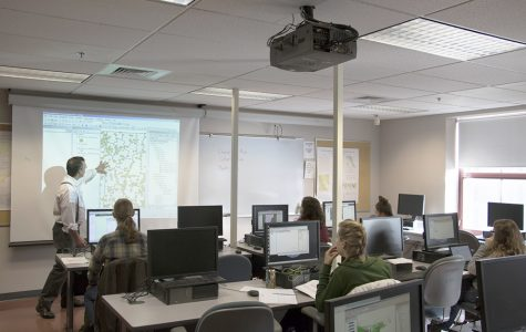 Flooding in Lafayette disrupts geography lab