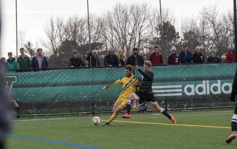 <p>Men&#8217;s soccer wins conference championship </p>