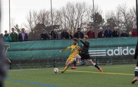 <p>Men&#8217;s soccer wins conference championship</p>
