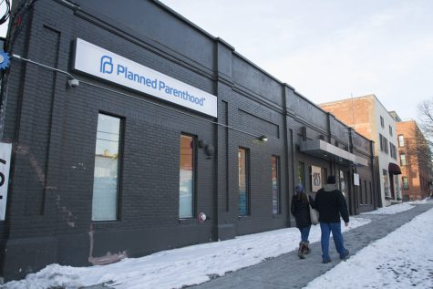 The Planned Parenthood clinic on St. Paul Street in Burlington is pictured, Jan. 22. The UVM club VOX: Voices for Planned Parenthood plans to sponsor events to raise awareness on campus for reproductive rights. RYAN THORNTON/ The Vermont Cynic