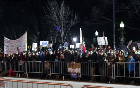 <p>Trump rally in Burlington met with local opposition</p>