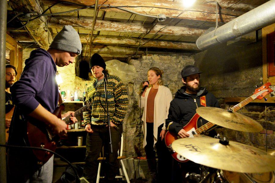 Student band gets into the groove