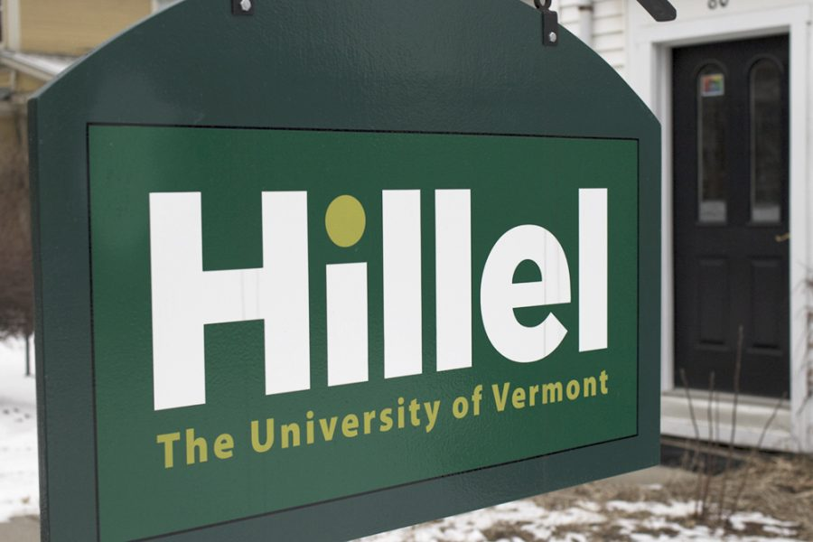 The Hillel building on Colchester Avenue is pictured Feb. 15. Hillel represents Jewish students on campus. COLE WANGSNESS/The Vermont Cynic