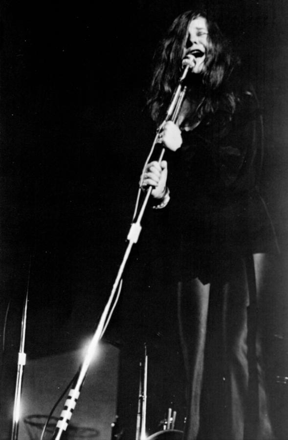 Janis Joplin singing at the final Kake Walk in 1969.