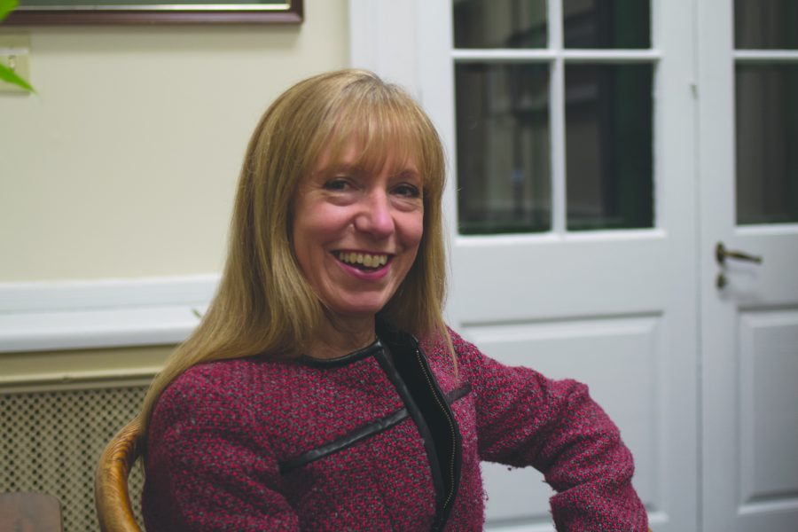 Sharon Paulson, the newly hired chief of staff and senior council to President Tom Sullivan, is pictured Feb 1. RYAN THORNTON/The Vermont Cynic