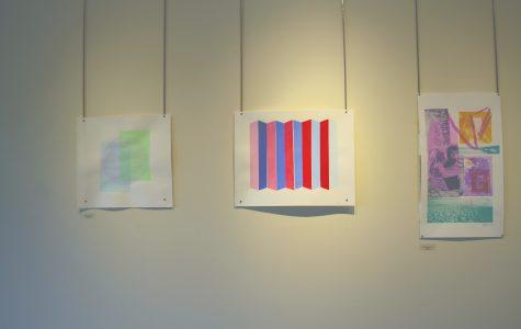 Student prints splash color in Davis Center