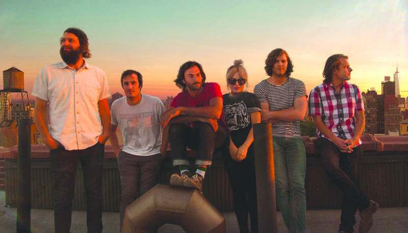 Seattle indie folk band The Head and the Heart is pictured. The group will be performing at Spring- Fest along with student band Bison April 30. PHOTO COURTESY OF CURTIS MILLARD