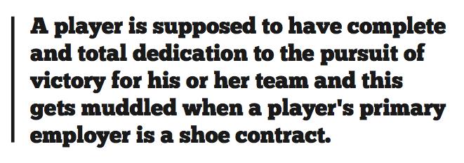 Athletes face tough choice