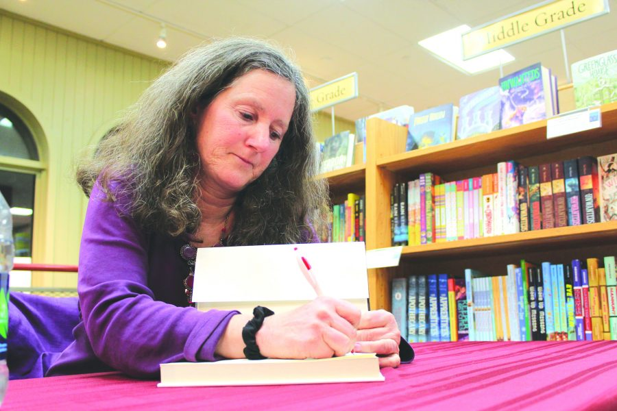 Vermont native and author Carol Noyes signing books March 9. Noyes debuted the second printing of her book