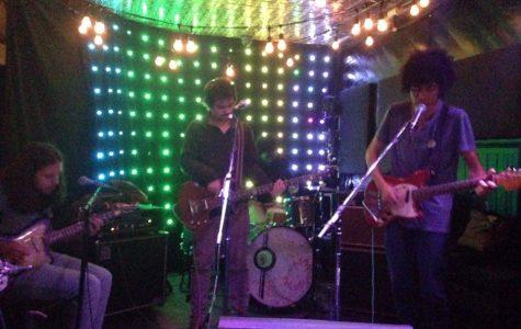 Brazilian band rocks local venue