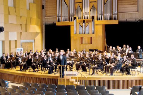 Wind ensemble creates worldly experience