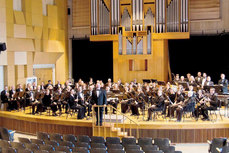 Wind ensemble creates worldly experience