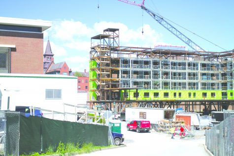 Campus construction gives UVM new look