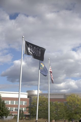 UVM raises Black Lives Matter flag