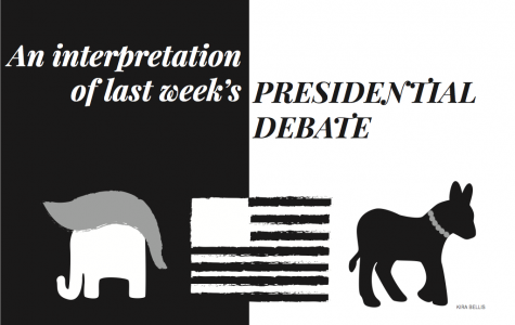 Point Counterpoint: An interpretation of last week's Presidential Debate; Counterpoint: Clinton trumped Trump in crazy debate