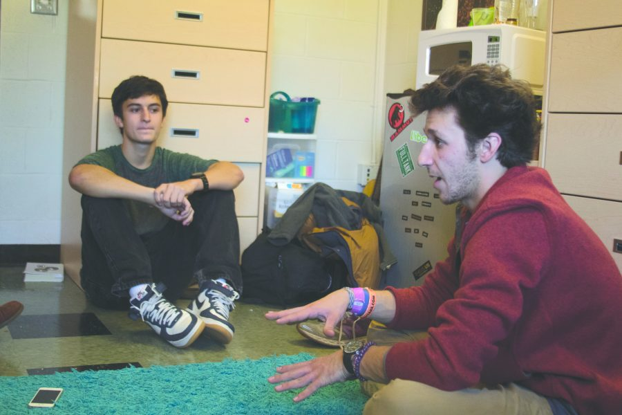 Student band finds place in the Burly scene