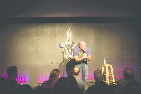 Comedian records special in Burlington
