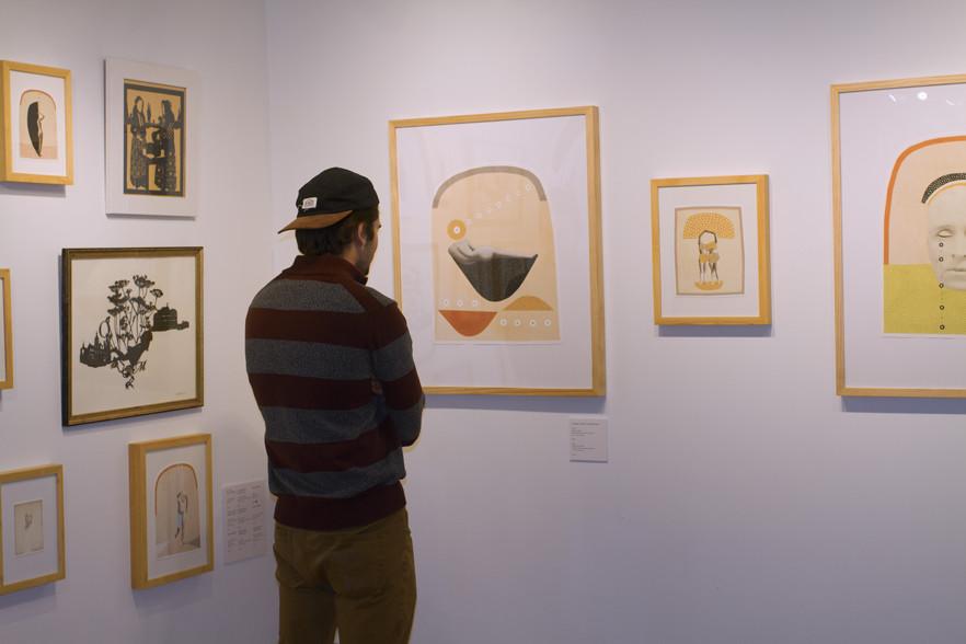 Burlington City Arts exhibit Mo Quigg/The Vermont Cynic