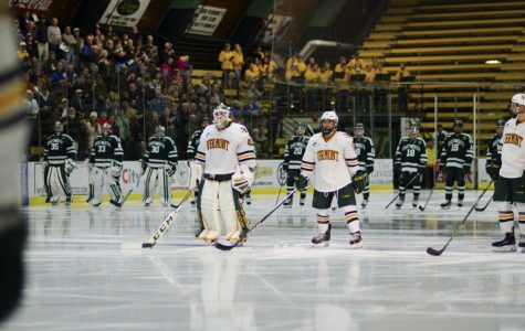 Hockey goalie carries team to new heights