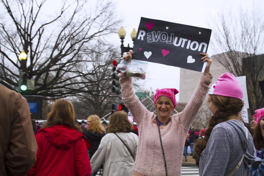 UVM students join Women's March on Washington