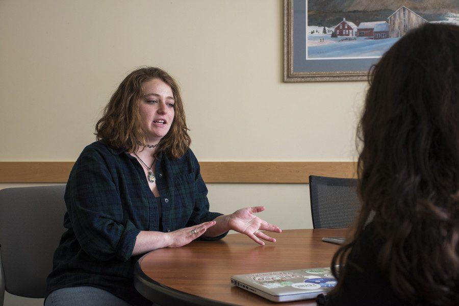 UVM Juntos coordinator Kelsey Aaron discusses the arrest March 20.