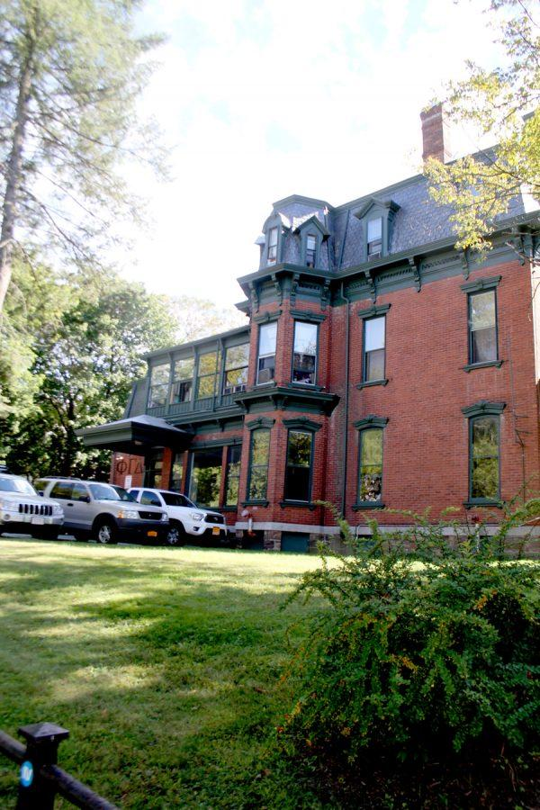 The Phi Gamma Delta fraternity house on Main St. is pictured. Fiji has been suspended for four years after violating UVM's hazing and alcohol policies.