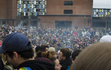 UVM students celebrate 4/20 by exercising, smoking