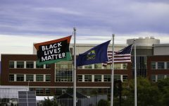 BLM flag thief identified