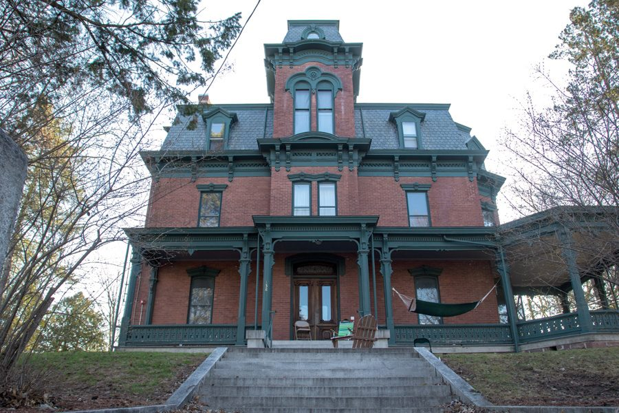 Front steps of FIJI house.
