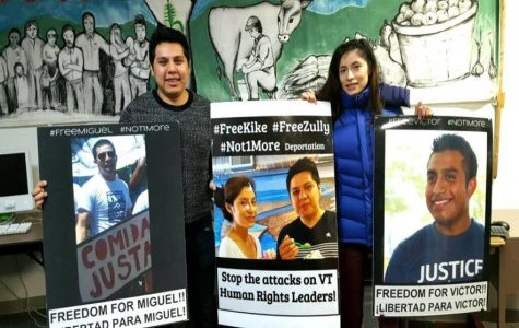 Migrant justice activists return home after immigration hearing