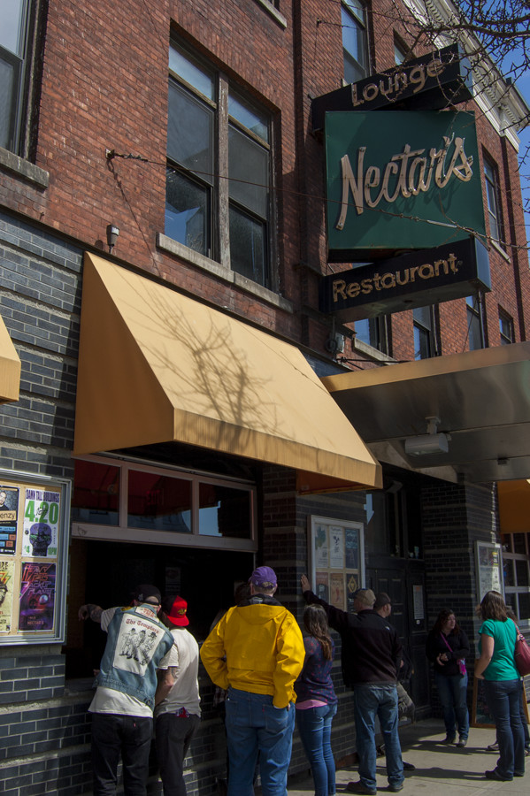The Nectar's Lounge and Restaurant is pictured.