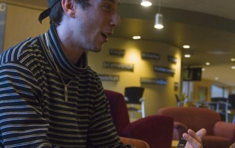 UVM rapper balances his music with his class work