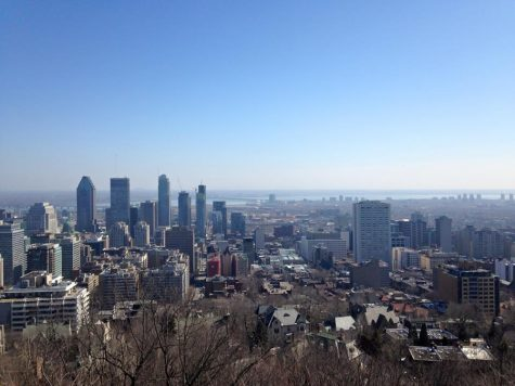 Montreal from Mont Royal, QC. CAROLINE SHEA. B-Side.