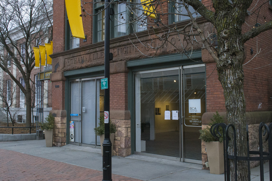 The BCA building is pictured. Admission to the gallery is free and open to the public.