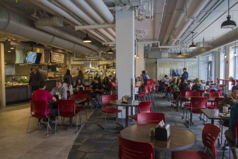 Central campus dining hall offers new meal options
