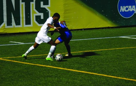 Men's soccer team bounces back after home defeat