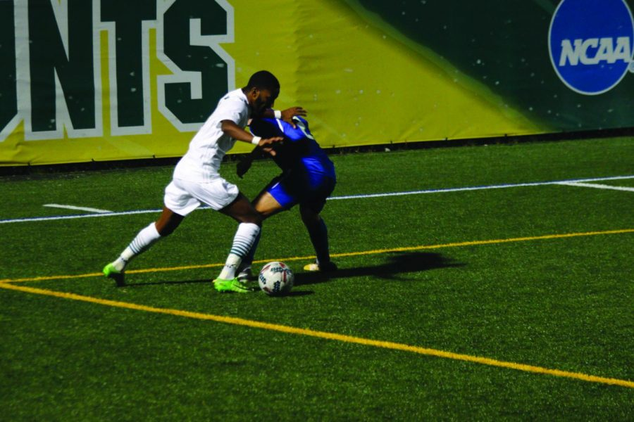 Men's soccer team bounces back after home defeat