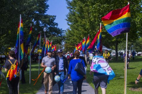 Burlington boasts pride in rainbow parade