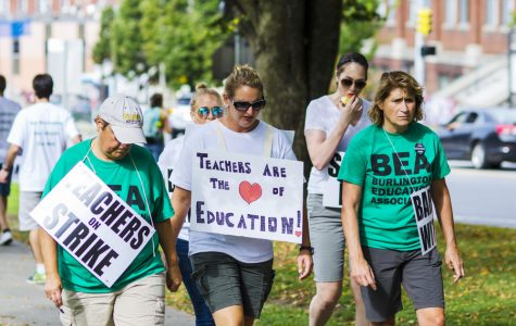 Burlington teachers strike and garner UVM support
