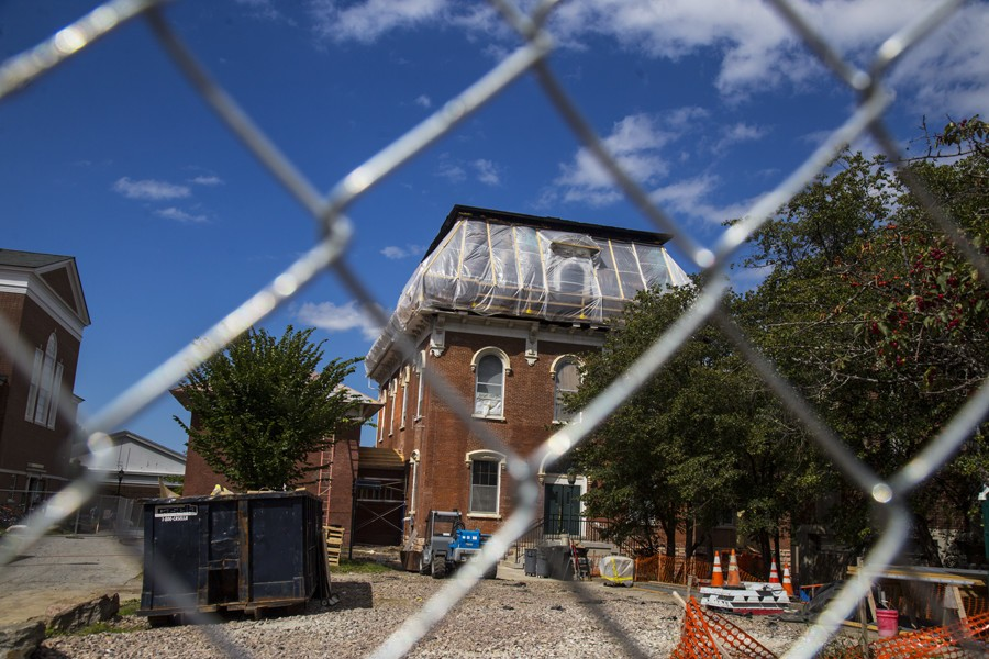 University continues with efforts to restore Torrey Hall after fire