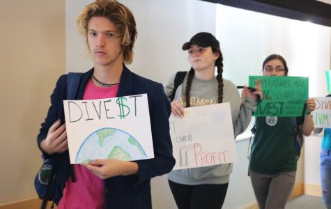 Students Demand Divestment