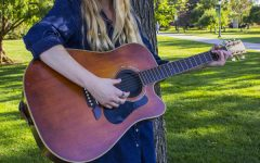 Student makes noise in Burly music scene