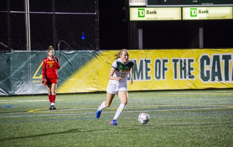 Women's soccer loses America East opener at home