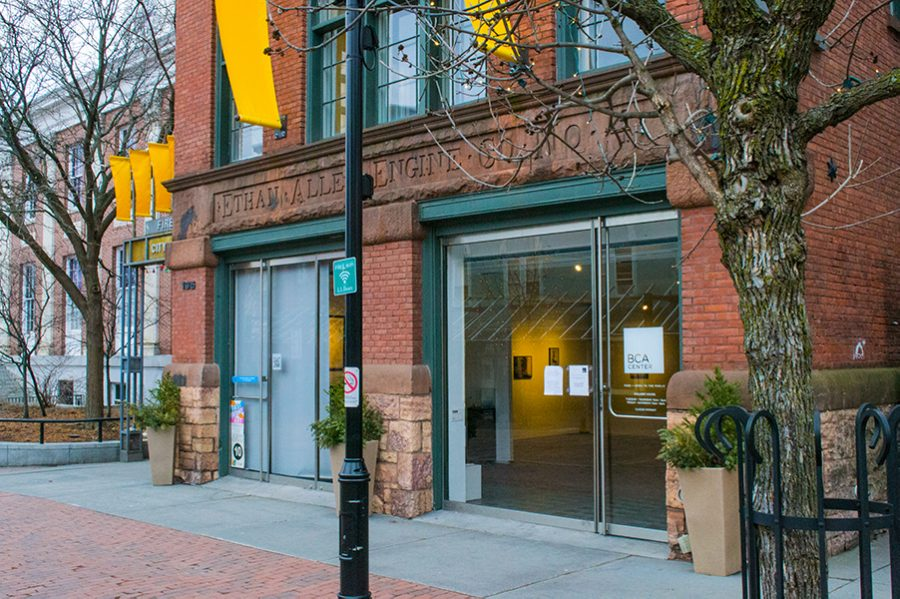 The Burlington City Arts Center on Church Street. The center will host a free reception to celebrate the opening of the winter exhibitions on Jan. 19 at 6 p.m.